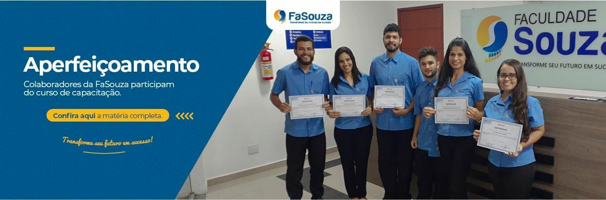 Colaboradores da FaSouza participam de curso de capacitação