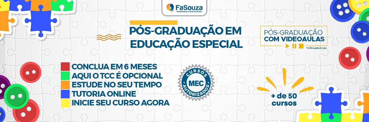 Cursos de Pós-Graduação em Educação Especial
