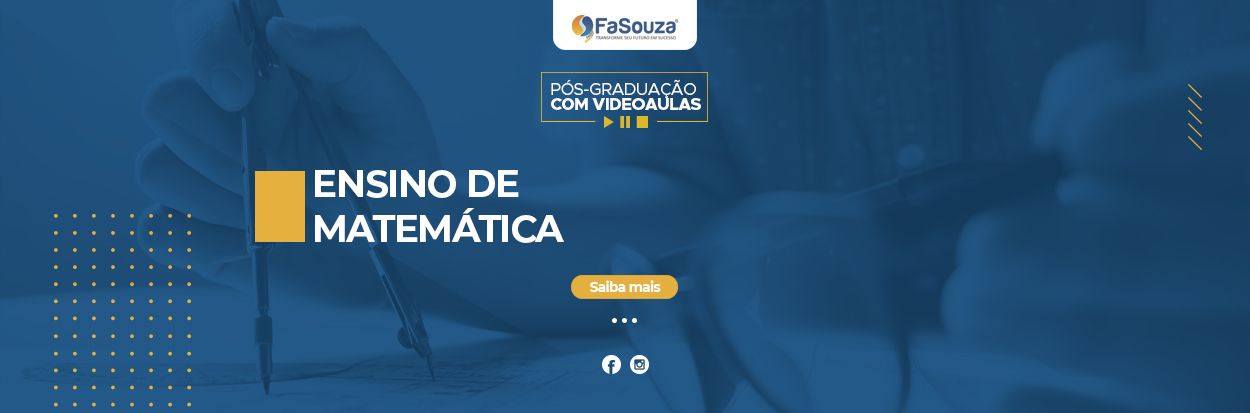 Pós-Graduação Ensino de Matemática EAD