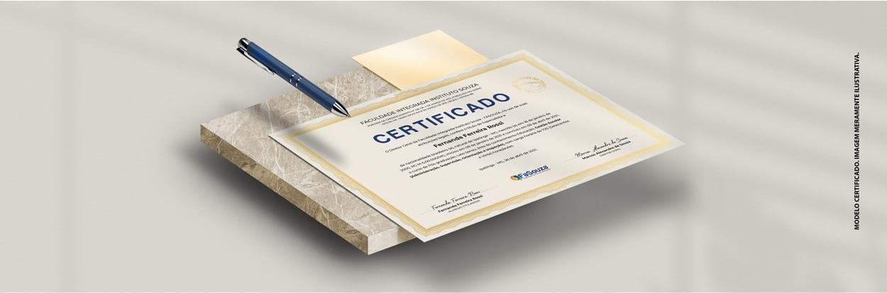Certificado Pós-graduação