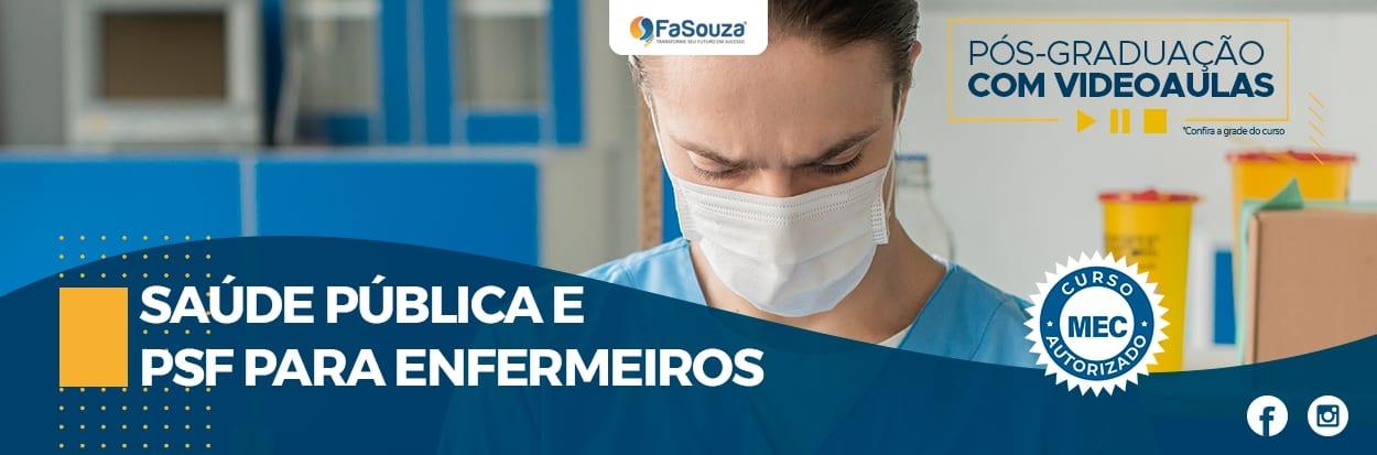 Saúde Pública e PSF para Enfermeiros