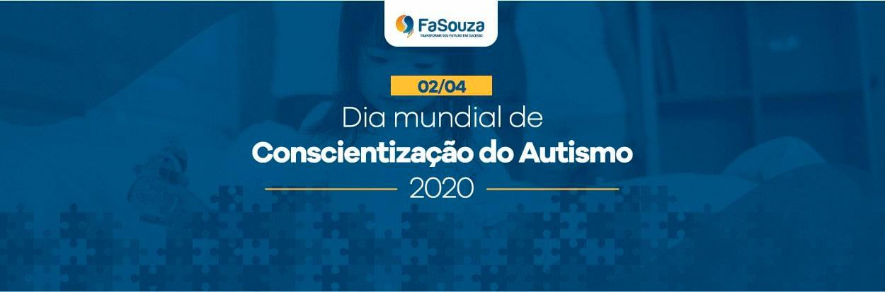 02/04 Dia Mundial de Conscientização do Autismo