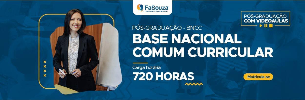 Pós-Graduação Base Nacional Comum Curricular (BNCC)