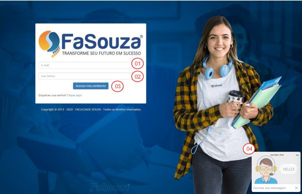 Portal do Aluno Faculdade Souza