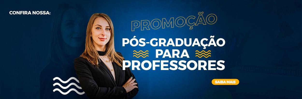 Promoção para professores dos cursos de pós-graduação